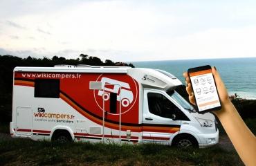 MY WIKICAMPERS - <p>MyWikicampers est l'application mobile indispensable pour les voyageurs nomades.</p> <p>Elle permet aux voyageurs qui ont loué un camping-car pour leur vacances, de trouver facilement un endroit pour stationner (camping, aire de camping-car, accueil à la ferme..), de géolocaliser des services ( aires de vidances, stations service...) et de connaître les évènements et activités à faire autour d'eux.</p> <p>En cas de panne ou d'accident, l'application leur indiquera les numéros utiles et les garages ou réparateurs de confiance à proximité.</p> <p>Enfin, l'application se dotera prochainement d'un chat géolocalisé, où les membres Wikicampers pourront dialoguer sur un large choix de sujets, aussi bien techniques que touristiques.</p>