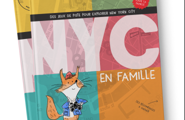 """guide de voyage """"des jeux de piste pour explorer New York City en famille"""" FAMILY WAY - Livre de 128 pages, format A5 Une guide unique pour toute la famille -6 parcours jalonnés d'étapes incontournables et de petits secrets de la vie locale. -Des jeux, des défis pour se challenger et s'amuser. -Les informations essentielles sur la ville, son histoire, ses habitants. -Des vidéos accessibles via un QR code et des fun facts pour vous divertir. -Des récompense à gagner à l'issue de chaque parcours."""