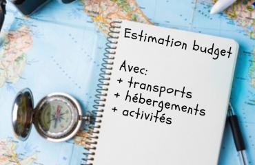 Estimation Budget - Vous souhaitez partir en France ou à l'étranger, mais vous ne savez pas quel budget prévoir ? Salmon Voyages effectue votre estimation budget en fonction de vos dates et de vos souhaits.  Prix: 9.90€  Si vous souhaitez ensuite déléguer vos recherches pour votre séjour, votre estimation budget est 100% remboursée !