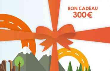 Bon Cadeau Wikicampers 300€ - Faites découvrir à vos proches les joies du voyage en camping-car avec le Bon Cadeau Wikicampers de 300 € !  Ce Bon cadeau est valable pour la location d'un camping-car, van ou fourgon aménagé sur le site www.wikicampers.fr