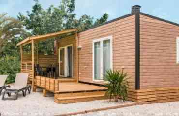 Mobil home Nautic 2 chambres 2019 - Double entrée 29m² d'espace à vivre Terrasse moderne couverte de 15 m² Originalité : son toit plat et sa pergola « tradi voile » Top confort