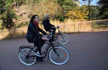 Balade en mode Vintage à vélo Peugeot