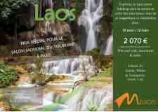 15 jours 12 nuits Laos entre trekking et visite des plus beaux sites en nature - <p>Découvrez les richesses d'un pays où le temps semble s'être arrêté, au travers de sa nature étonnante et de la chaleur de sa population. De Luang Prabang à Pakse, vous explorerez le Laos dans toute sa splendeur avec ses cascades, rizières et ses pratiques ancestrales comme le tissage de la soie et du coton. Un voyage au cœur d'un Laos authentique.</p>