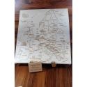 Puzzle Europe artisanal en bois - <p>Composé de 29 pièces, sur chacune d'entre elles, on retrouve:</p> <p>· le nom du pays</p> <p>· Sa capitale</p> <p>· L'indication de certaines grandes villes (quand il y a assez de place)</p> <p>Le Puzzle Europe reprend les contours du Continent Européen, tel qu'il est officiellement défini dans toutes les cartes géographiques officielles</p> <p>Pour être logique avec nous même, celui ci fut d'ailleurs validé puis diffusé à Sources d'Europe à la Défense, structure qui fut le représentant de la Communauté Européenne en France</p>
