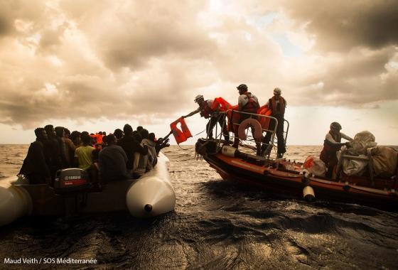 SOS Méditerranée Maud Weith