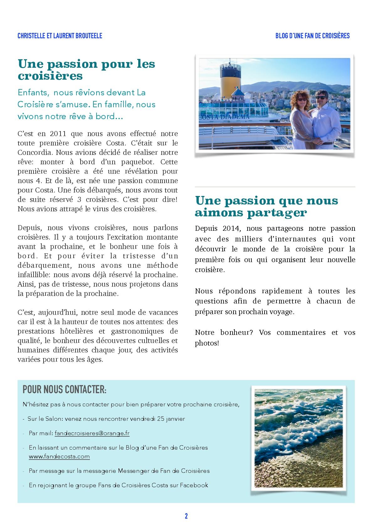 Fan de costa - Coin des blogueurs Lille 2019