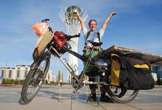 vélo globestoppeuse