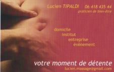 carte de visite Lucien Tipaldi