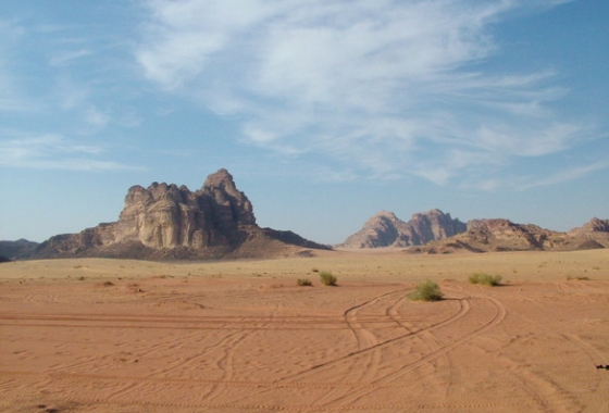 AFRIQUE - jordanie - paysage - desert