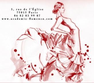 Logo l'académie de flamenco