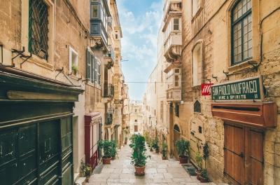 Photo de La Vallette à Malte