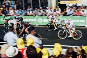 Course cyclistes vélo