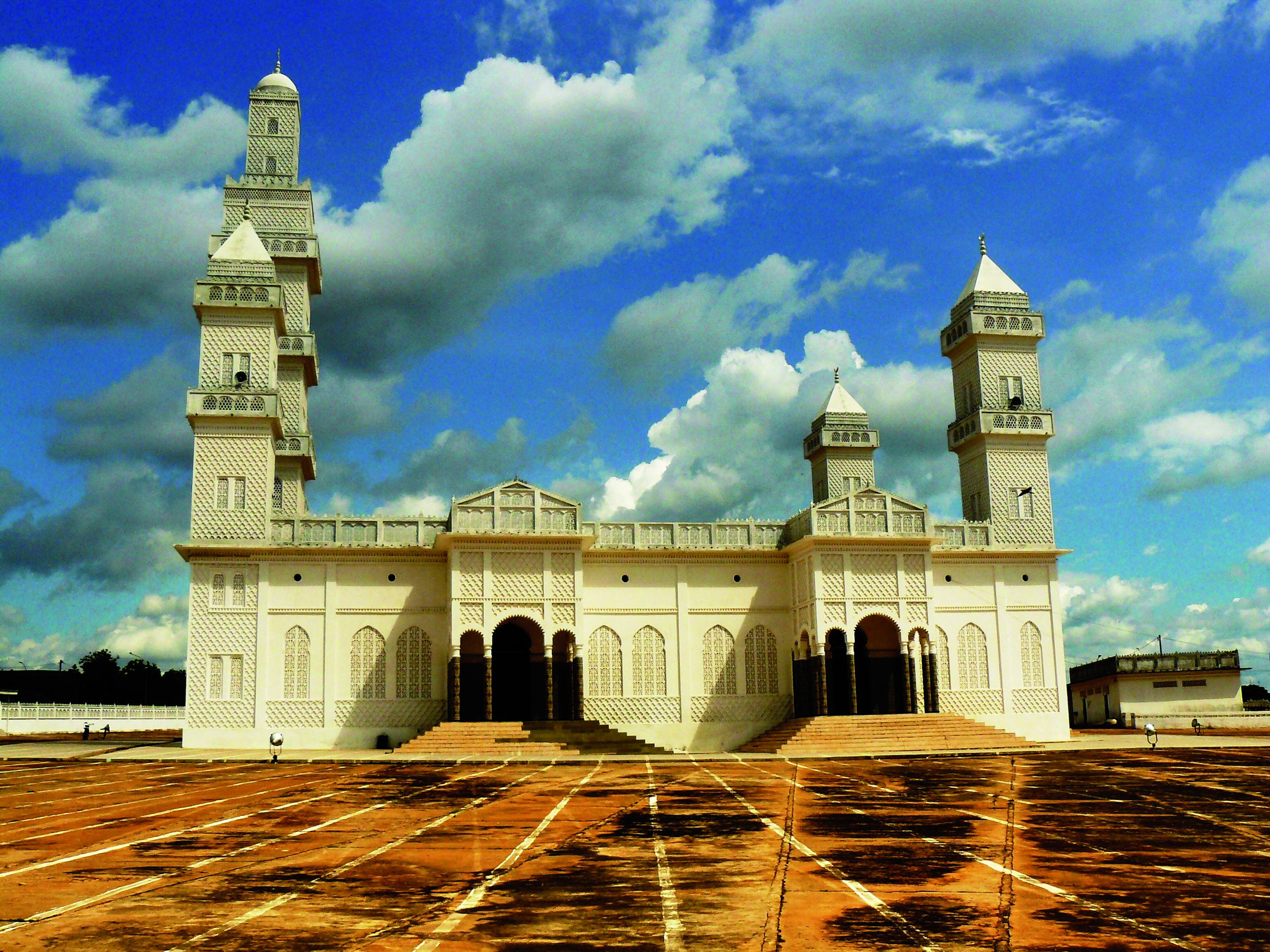 Côte d'Ivoire la grande mosquée Yamoussoukro