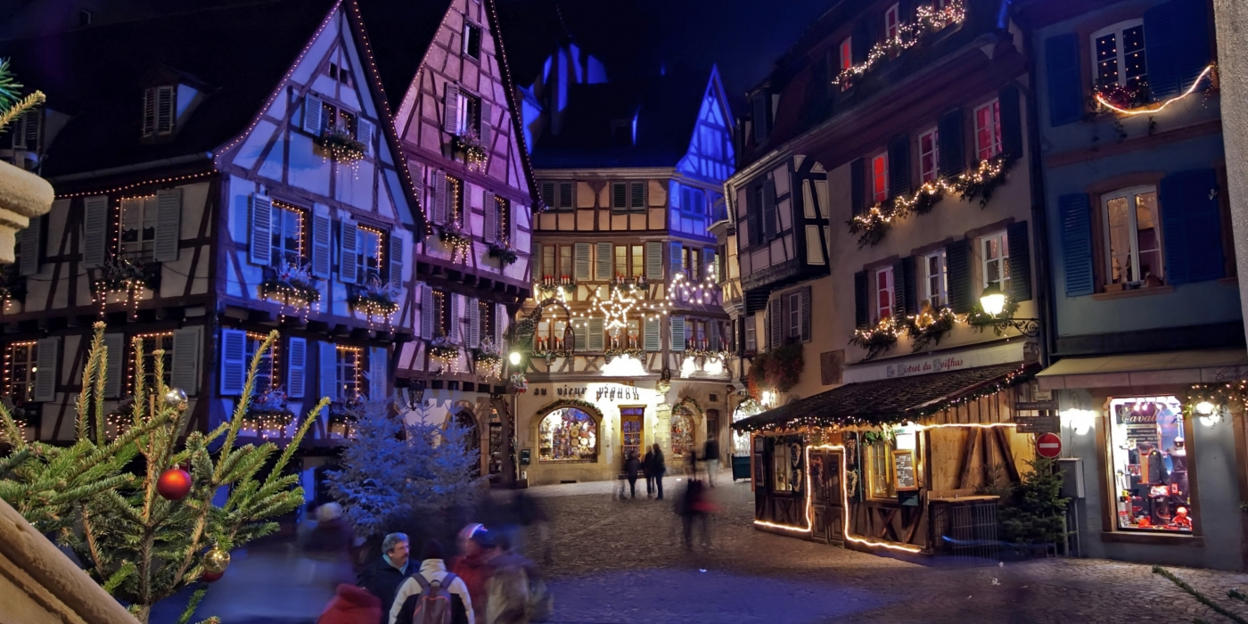 Photo du marché de Noel de Colmar