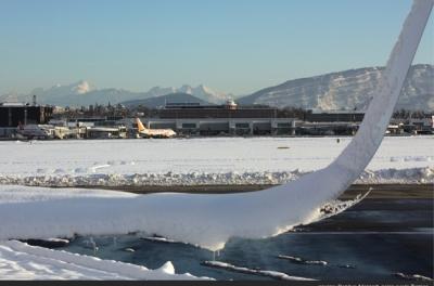 Photo de la piste - Aéroport Genève