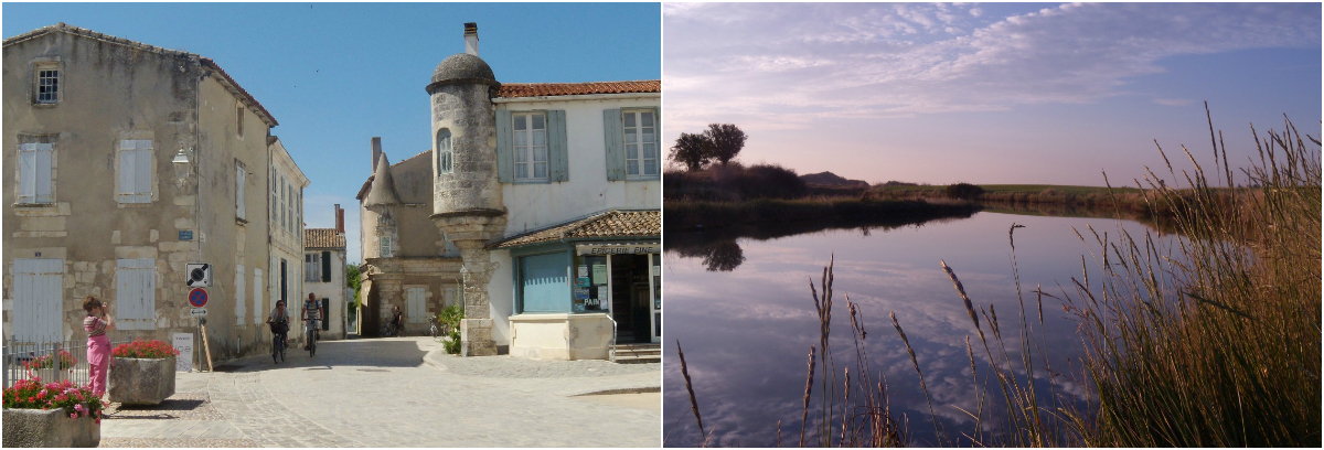 Photo collage de l'île de Ré - Gabriel Page
