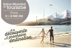 L'affiche du Salon Mondial du Tourisme