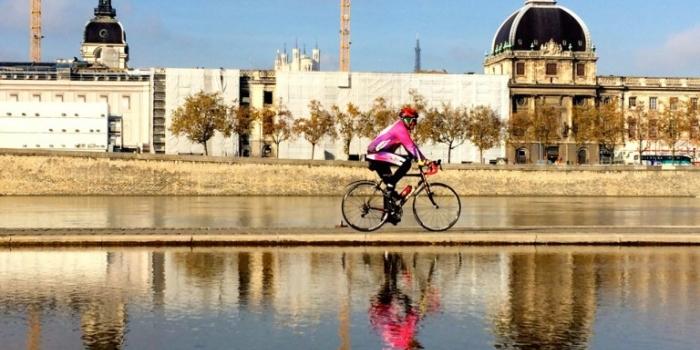 lyon à vélo