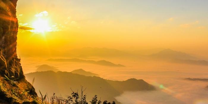 Thaïlande - coucher de soleil